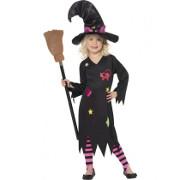 häx halloween kostym barn