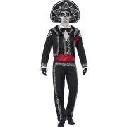 senor bones halloween kostym 2016
